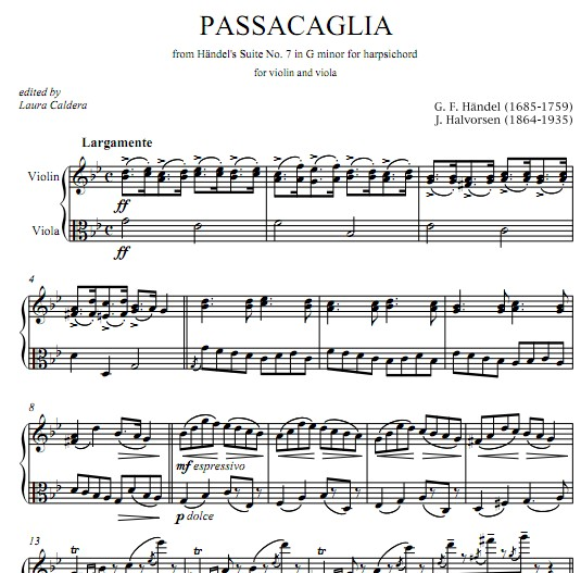 亚小提琴中提琴重奏谱 分谱