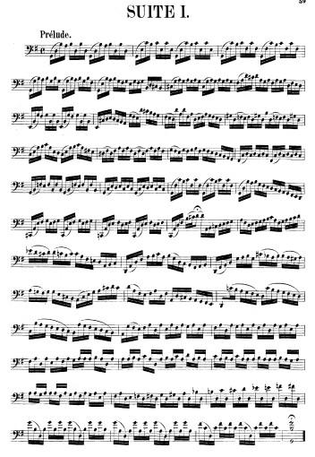 吉格(gigue) 乐谱 五线谱 大提琴谱 pdf格式 共5页 雅筑清新乐谱 巴赫