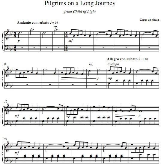 楽谱   五线谱   钢琴谱   PDF格式   高清晰版