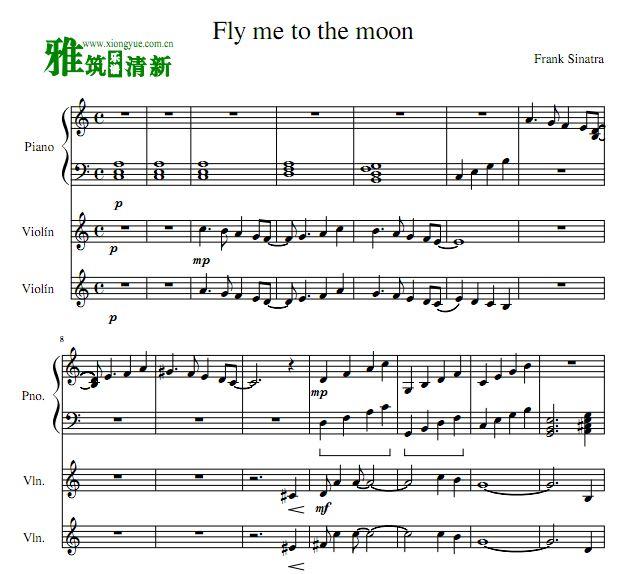 双小提琴钢琴三重奏谱