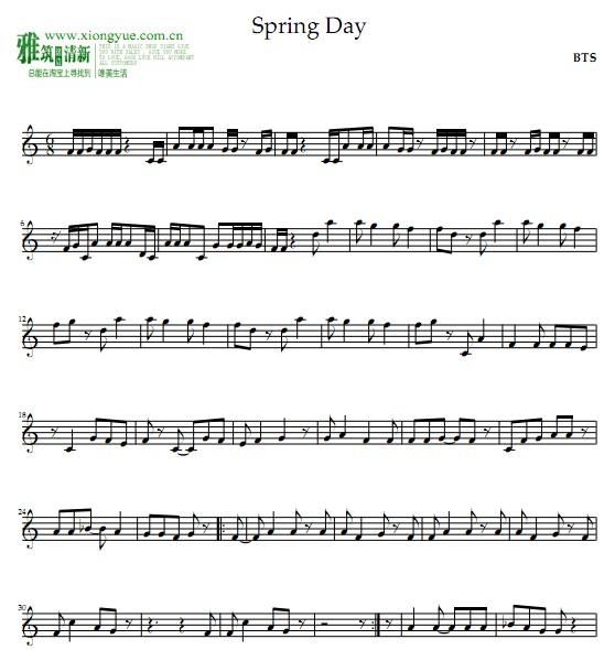 ing Day单簧管谱