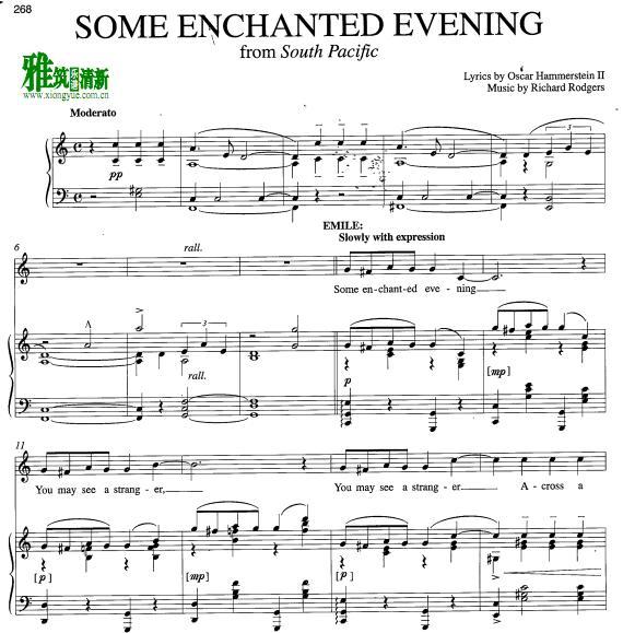ing迷离之夜钢琴谱
